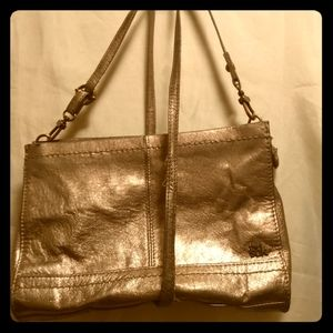 the Sak Soft Gold handbag/clutch